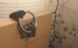Home made bondage bed